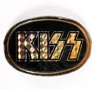 KISS Belt Buckle - Logo, 1977, (7/10)
