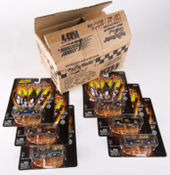 KISS Racing Cars - Johnny Lightning Trucks, set of 6 plus shipping box