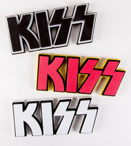 "KISS Stickers - 3D Logo Foam, 9"" STICKER"