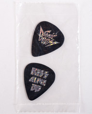 KISS Guitar Pick - Alive 35 / Sonic Boom, sealed pack of 2