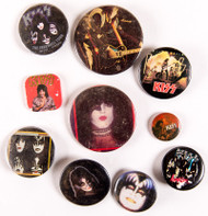 KISS Buttons - Lot #40