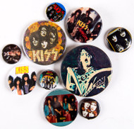 KISS Buttons - Lot #37