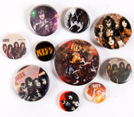 KISS Buttons - Lot #34