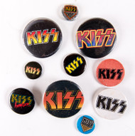 KISS Buttons - Lot #33