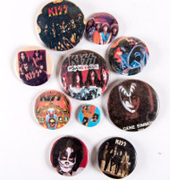 KISS Buttons - Lot #29