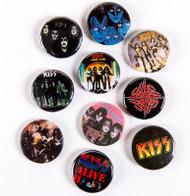 KISS Buttons - Lot #18