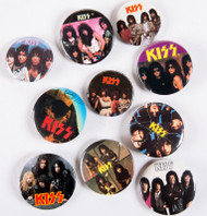 KISS Buttons - Lot #11