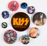 KISS Buttons - Lot #7
