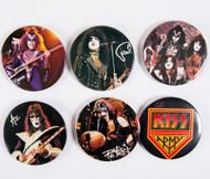 KISS Buttons - Lot #4
