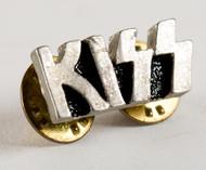 KISS Pin - Silver Logo