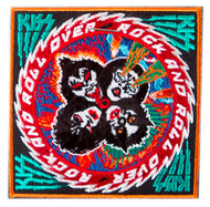 KISS Patch - Rock and Roll Over