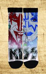 KISS Socks - Color Splash