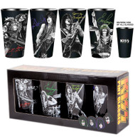KISS Pint Glass Set - Neon Signatures
