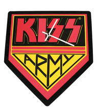 KISS 3D Foam Wall Clock, KISS Army CLOCK