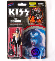 KISS Figures- 3 3/4 inch Love Gun - GENE BLOODY VARIANT