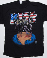 KISS T-Shirt - KISS Destroys Madison Sq Garden, (new) size XL
