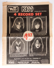 KISS Newspaper Ad - Solo albums, Woolco