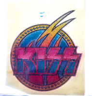 KISS Iron-On - KISS Glitter Logo
