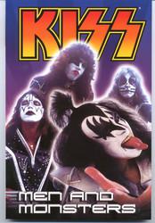 KISS Comic - Dark Horse Graphic Novel, Men and Monsters #3