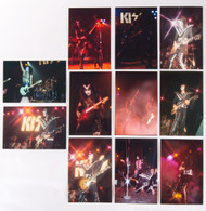 KISS Photos - Set of 11 vintage, 1974