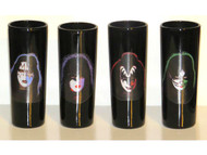 KISS Shooters - Solo Faces, set of 4