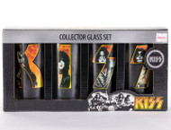 KISS Glass Set - Band Inside Logos