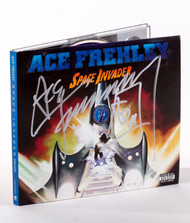 KISS Autograph - Ace Frehley Space Invader CD