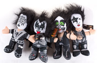 KISS Plush Figures - Toy Factory, set of 4