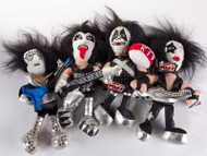 KISS Plush Figures - Beanbags, set of 4, (no boxes)