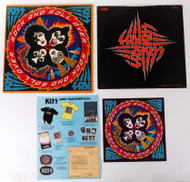 KISS Vinyl Record - Rock and Roll Over, 1st pressing, all inserts