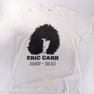 KISS T-Shirt - Eric Car 1950-1991, white, XL, (washed)