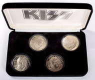 KISS Alive Worldwide Coins - Nickel, set of 4