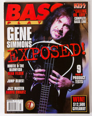 KISS Magazine - Bass Player Gene Simmons Exposed, 1996