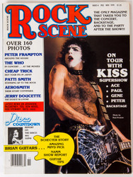 KISS Magazine - Rock Scene, November 1979, Paul