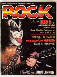 KISS Magazine - ROCK, KISS Special, November 1979, Gene