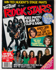 KISS Magazine - Teen Beat's Rock Stars, March 1979
