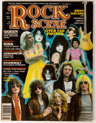 KISS Magazine - Rock Scene, May 1979