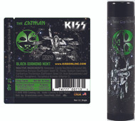 KISS Lip Balm - The Catman, Black Diamond Mint, loose single