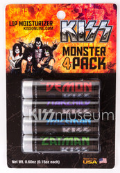 KISS Lip Balm - Monster 4 pack