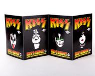 KISS Postcards - KISS Army 2013, set of 4