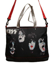 KISS Back Pack - Rock and Roll Tote Bag
