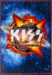 KISS Poster -  Hottest Show on Earth, 2010 tour