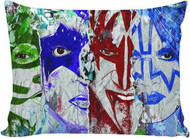 KISS Pillow Case - Color Faces