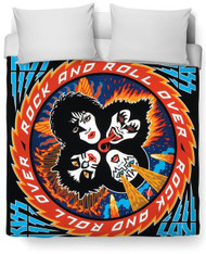 KISS Blanket - Duvet Cover, Rock and Roll Over