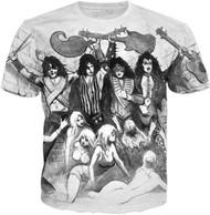 KISS T-Shirt - Love Gun Original Artwork, (all-over print)