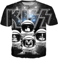 KISS T-Shirt - Galactic, (all-over print) - SIZE XL
