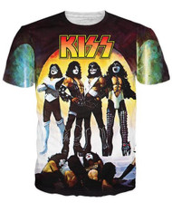 KISS T-Shirt - Love Gun, (all-over print)