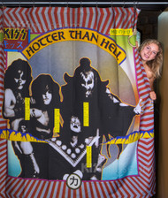 KISS Shower Curtain - Deluxe Hotter Than Hell