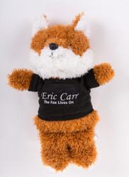 Eric Carr Stuffed Fox Doll, (black)