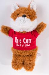 Eric Carr Stuffed Fox Doll, (red)